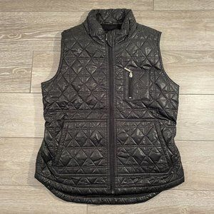 Imoga Girls Quilted Vest Black Size 14
